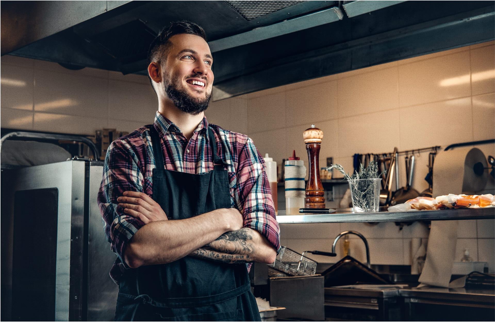 Butcher in the kitchen