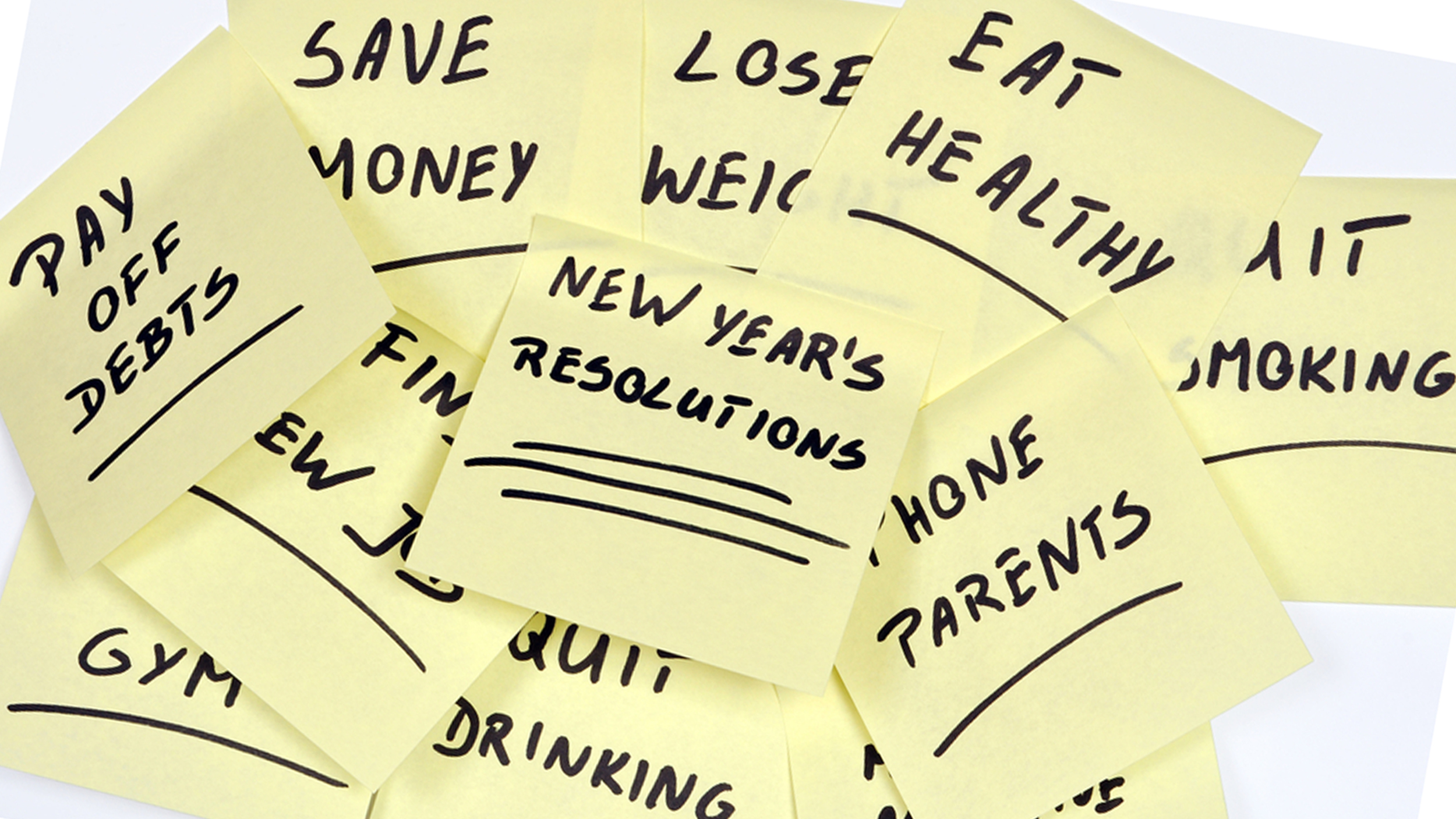New Year - New Vision: Why to give up on goals.