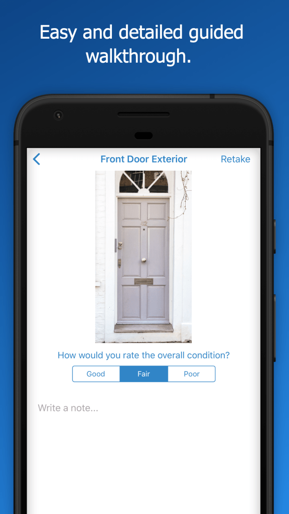 Easy and Detailed Guided WalkThrough - RentCheck App Preview