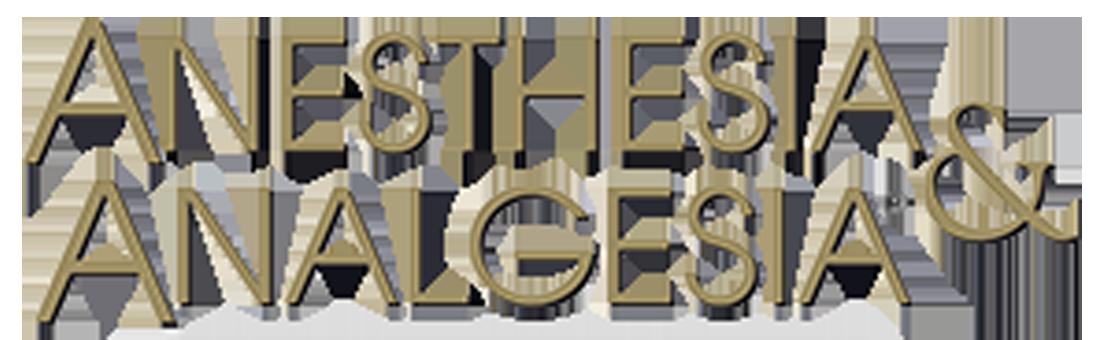 Anesthesia & Analgesia logo
