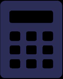 Lommeregner ikon
