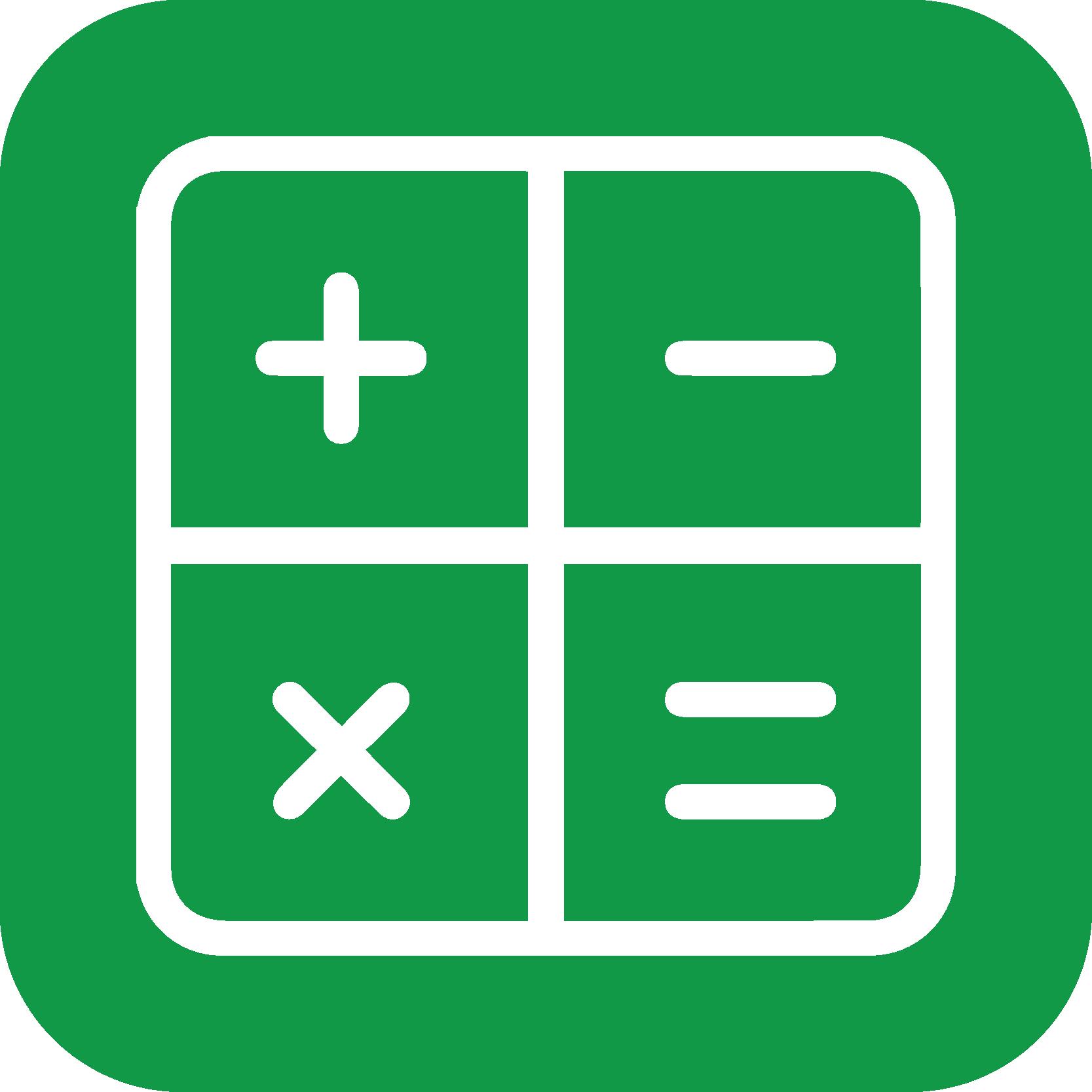 Nøgletal ikon grøn