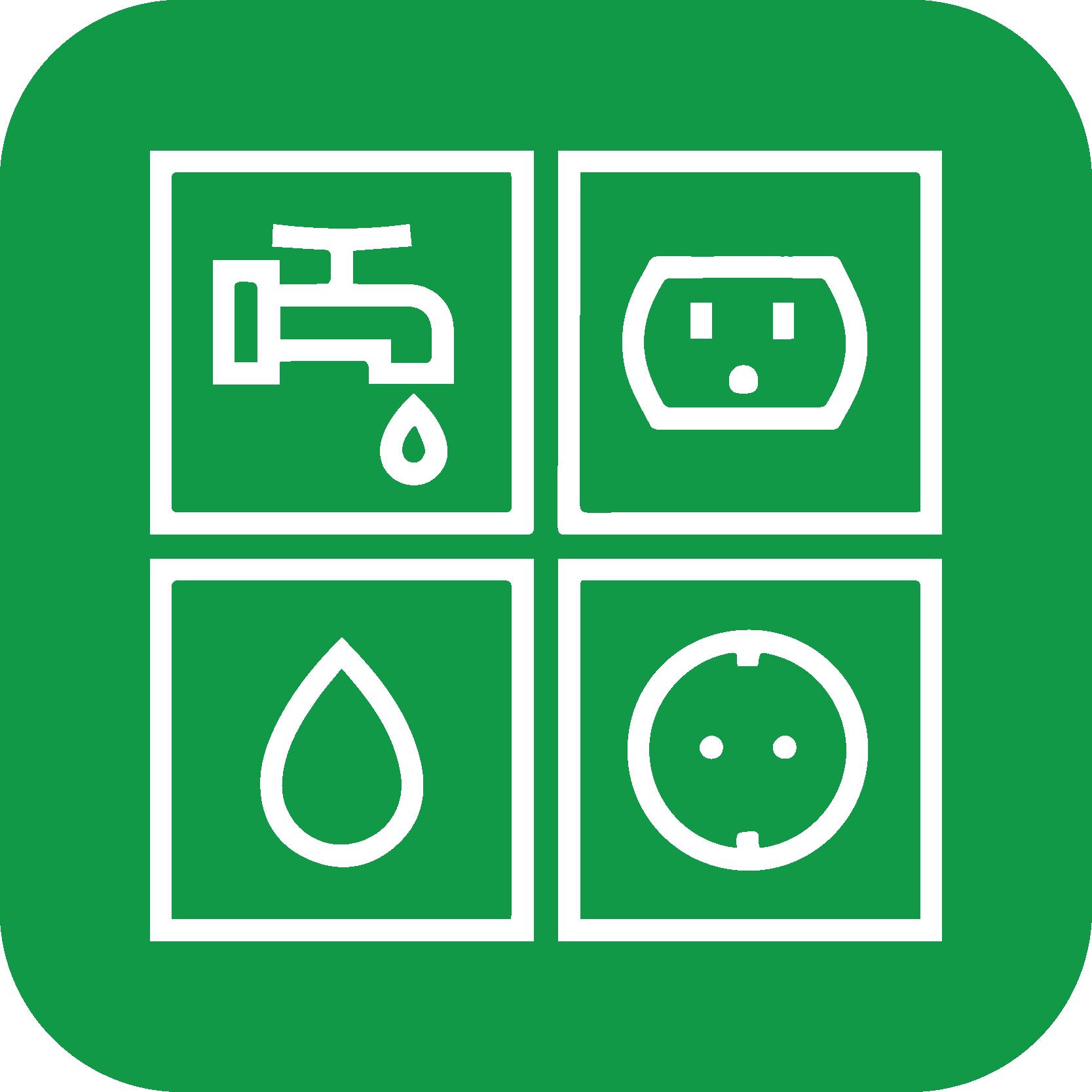 Forbrugsregnskaber og fordelingsregnskaber ikon grøn