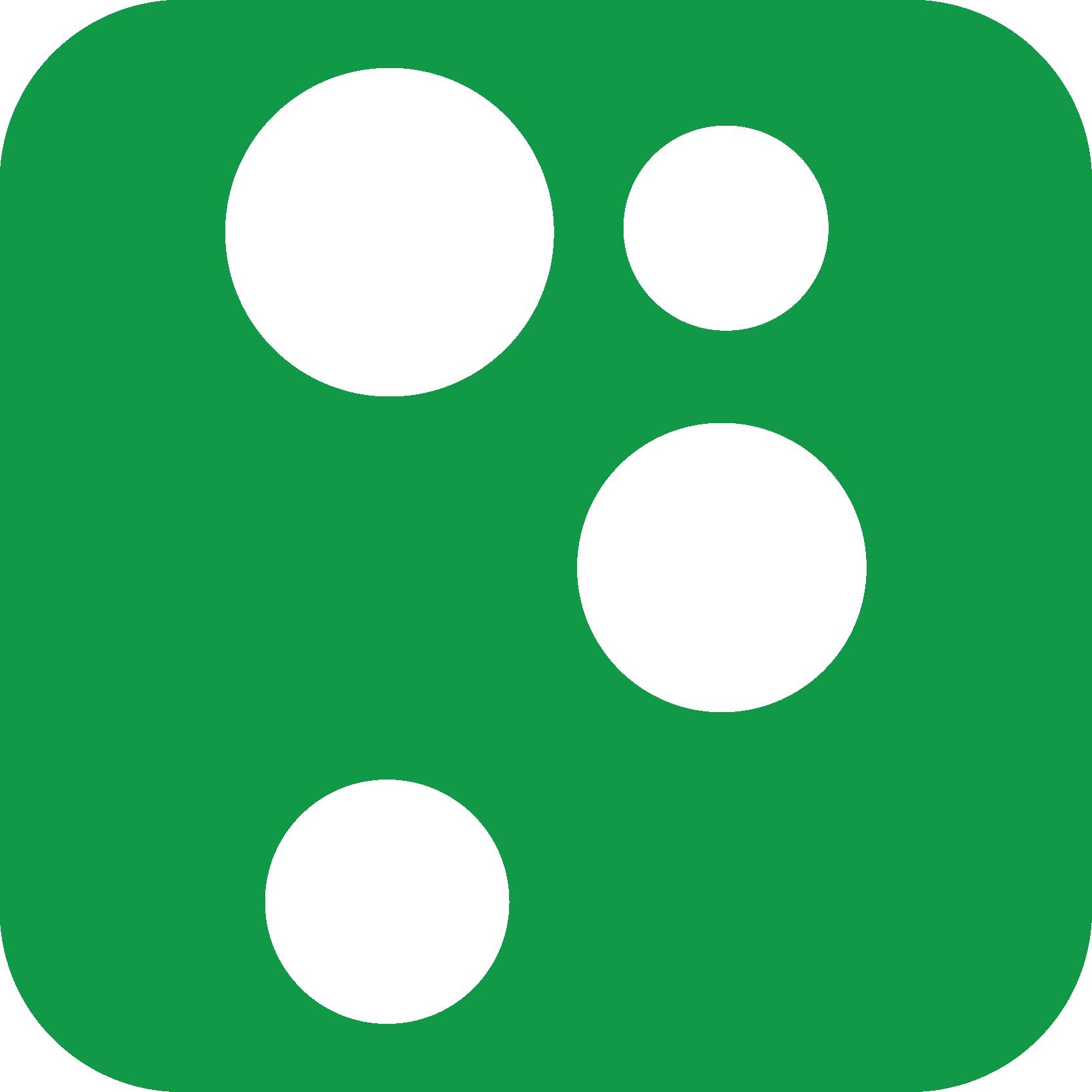 Nets ikon grøn