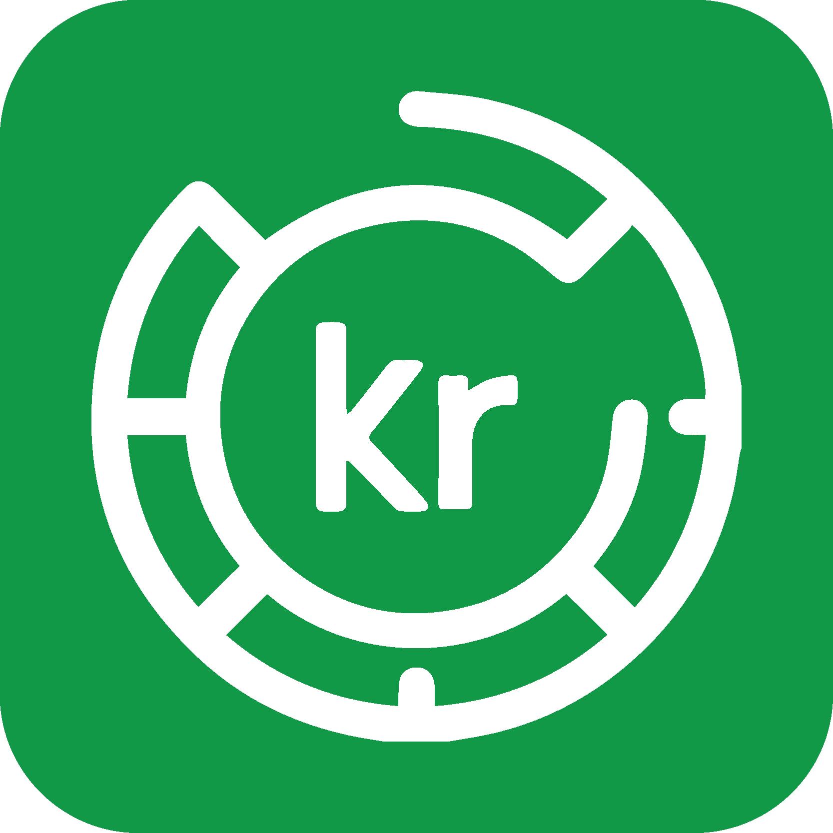 Opkrævninger ikon grøn