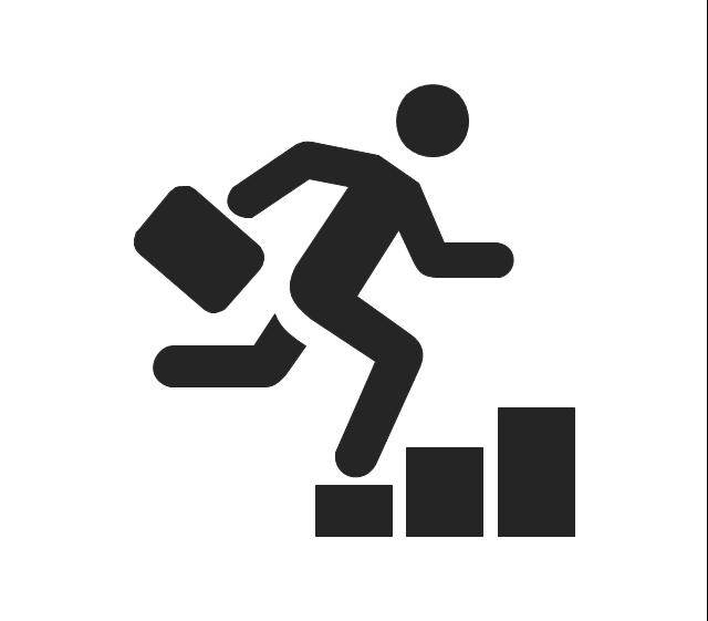 Billede af løbende mand