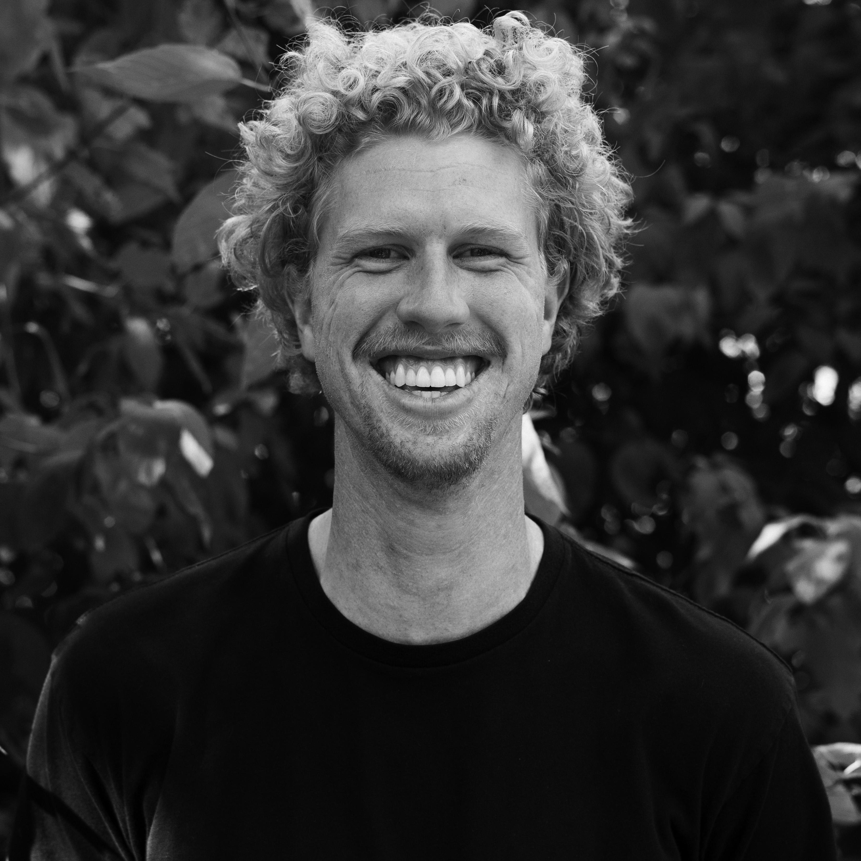 A photograph of product designer Peter Van Liefde.