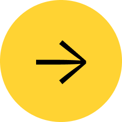 Medium sized yellow circle with a black arrow pointing right.