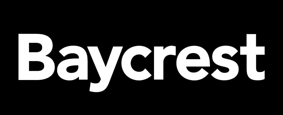 Baycrest Hospital logo black.