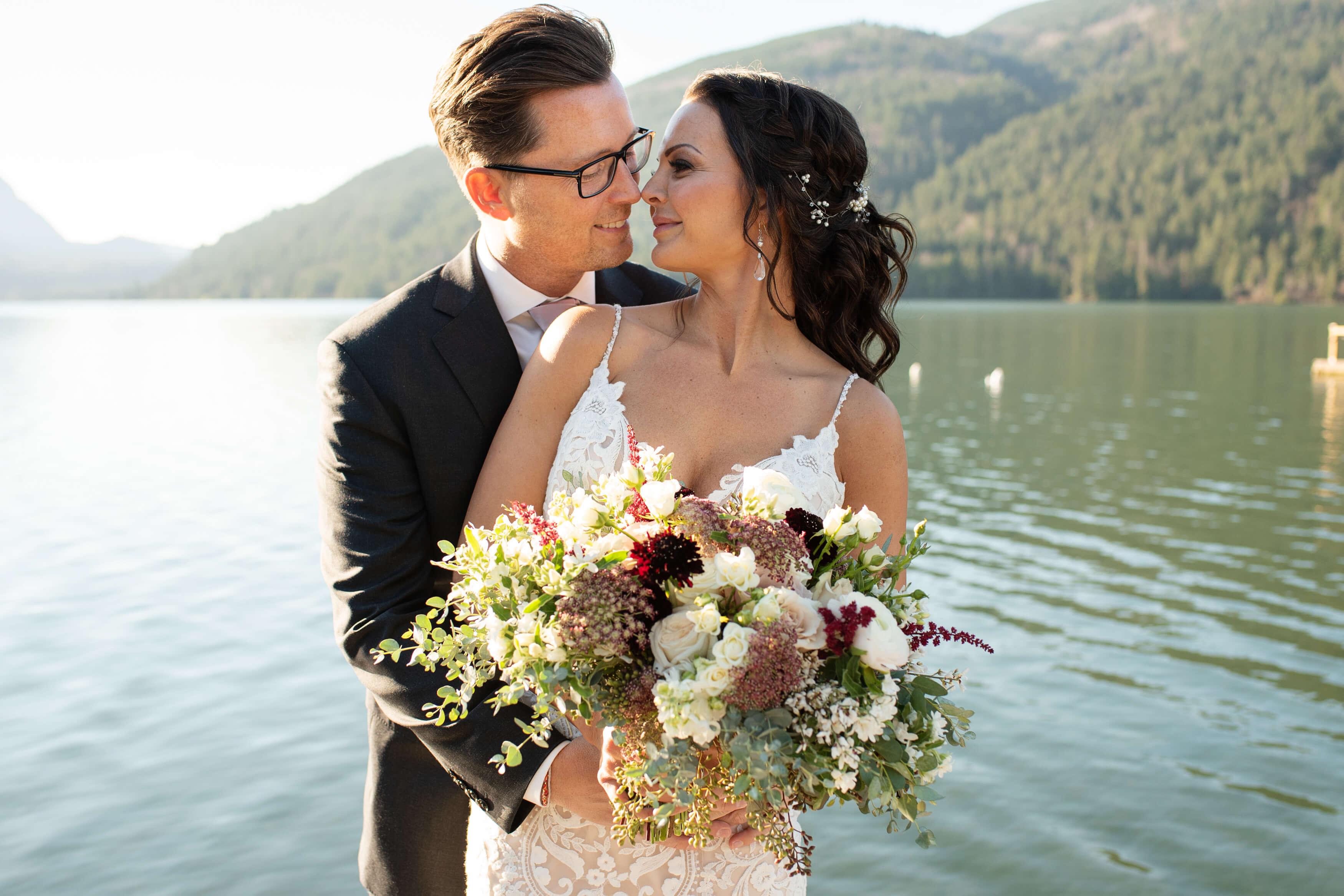 Cultus Lake Wedding Photos