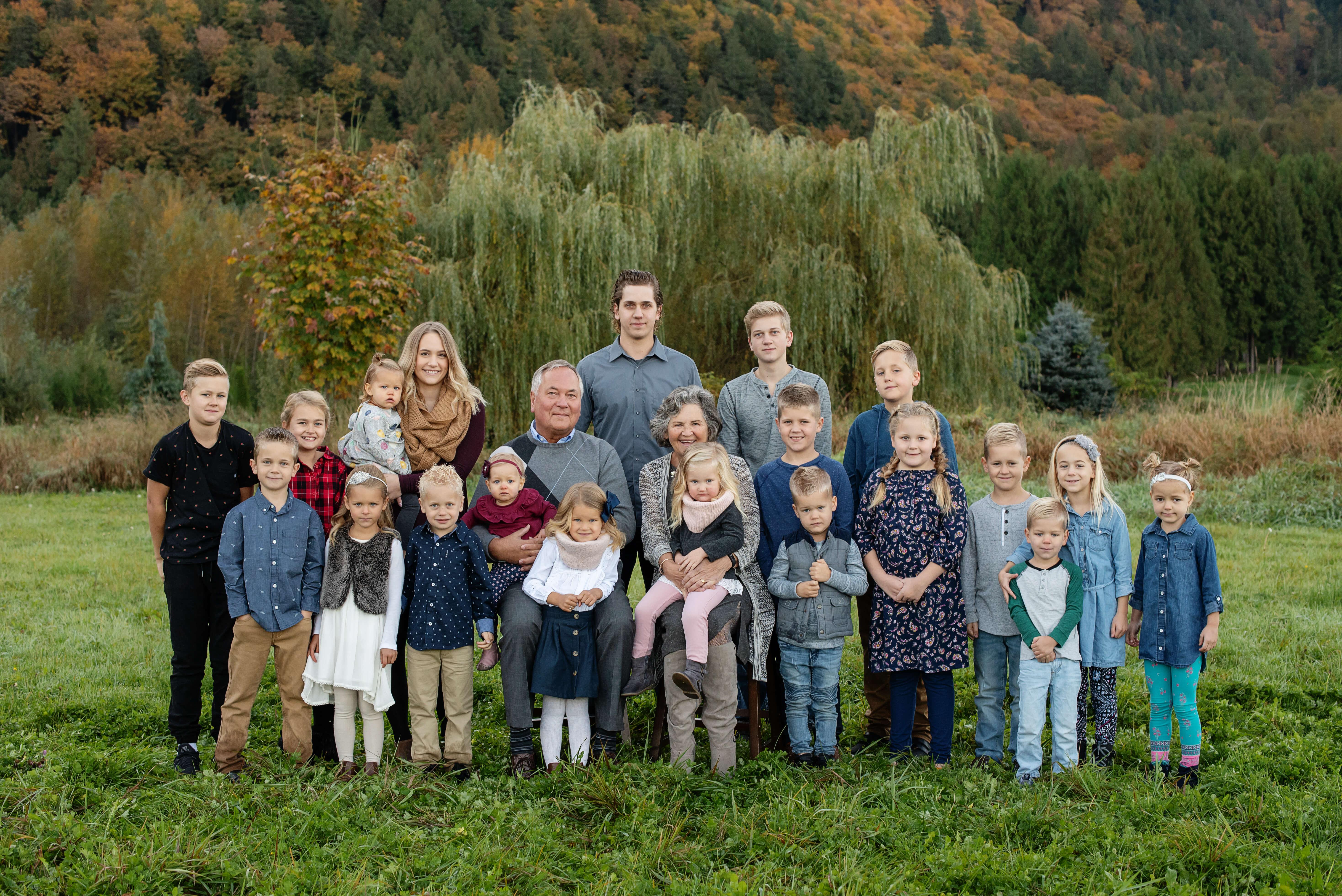 Chilliwack Extended Family Photographer