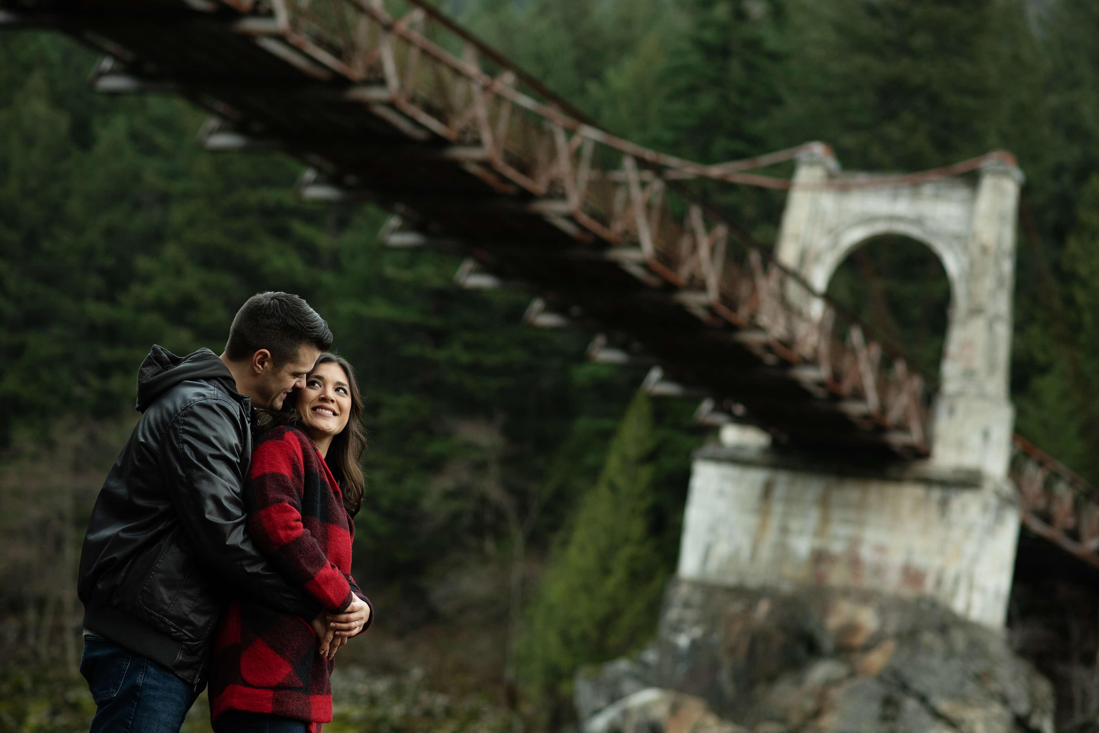 Alexandra Bridge Engagement