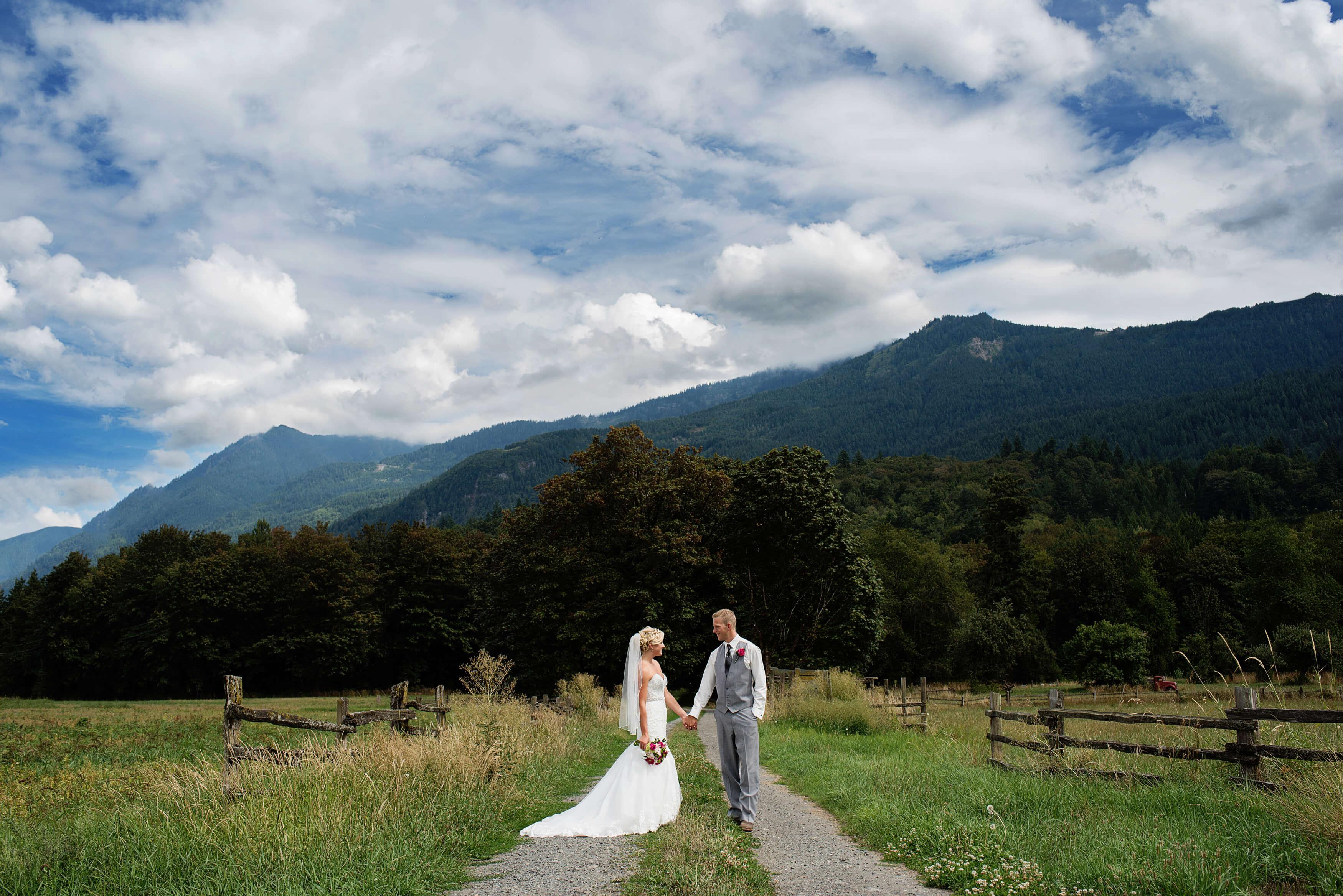 Farm Wedding In Chilliwack