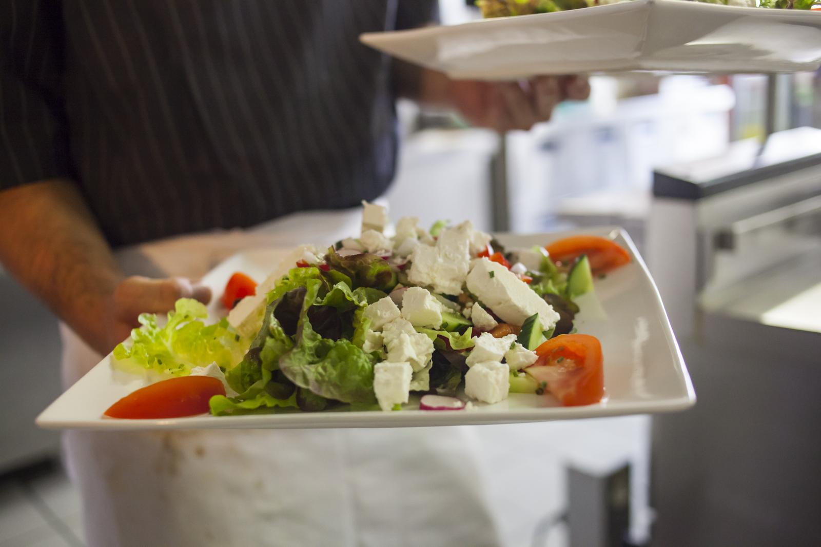 Salade du Restaurant du Soleil à Moutier