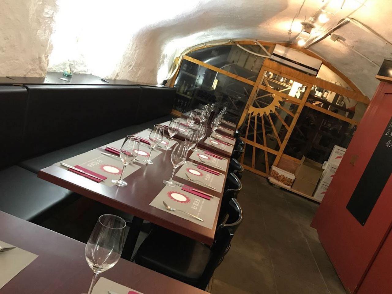 Intérieur du Restaurant du Soleil