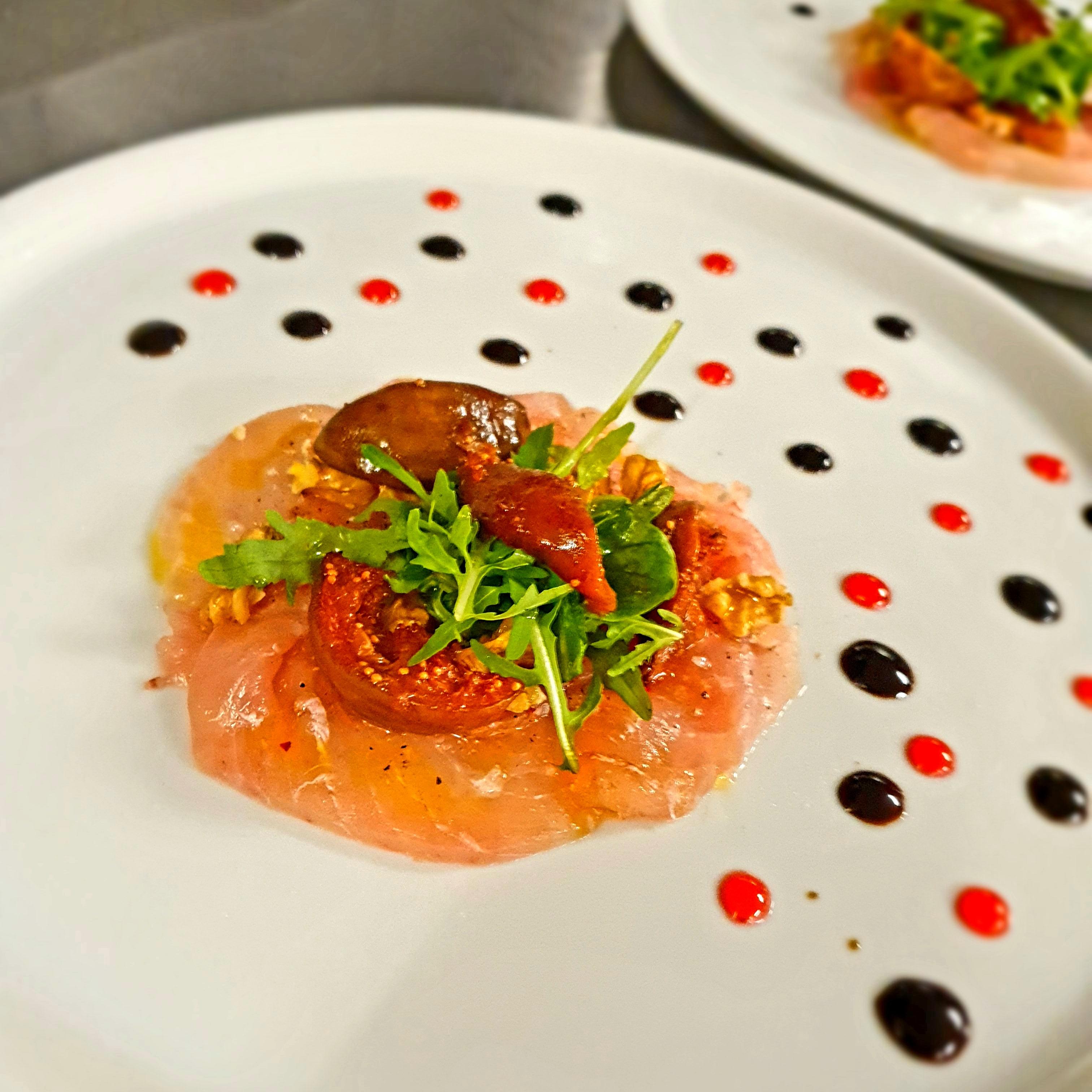 Saumon au Restaurant du Soleil