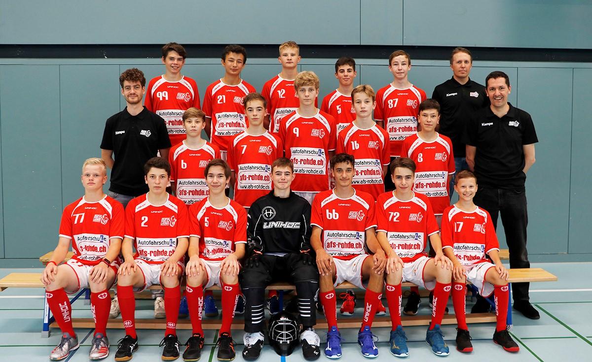 Mannschaftsfoto U18C