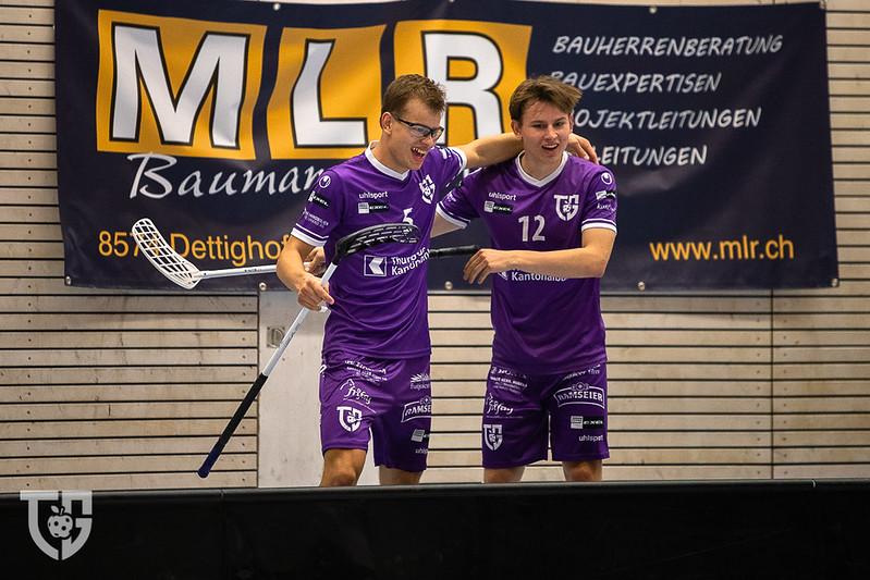 Fitzi Brüder für weitere drei Jahre bei Floorball Thurgau