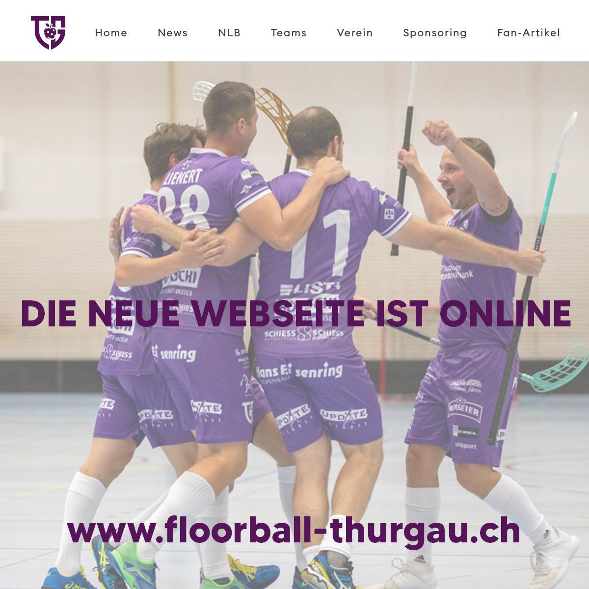 Die neue Website ist online