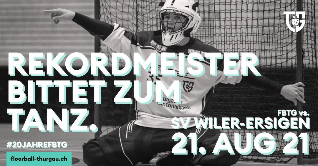 Floorball Thurgau testet gegen den SV Wiler-Ersigen