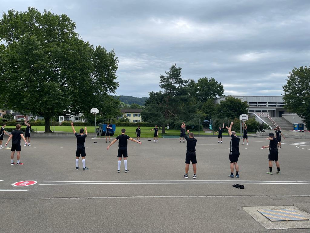 Trainingswoche NLB-Team von Floorball Thurgau