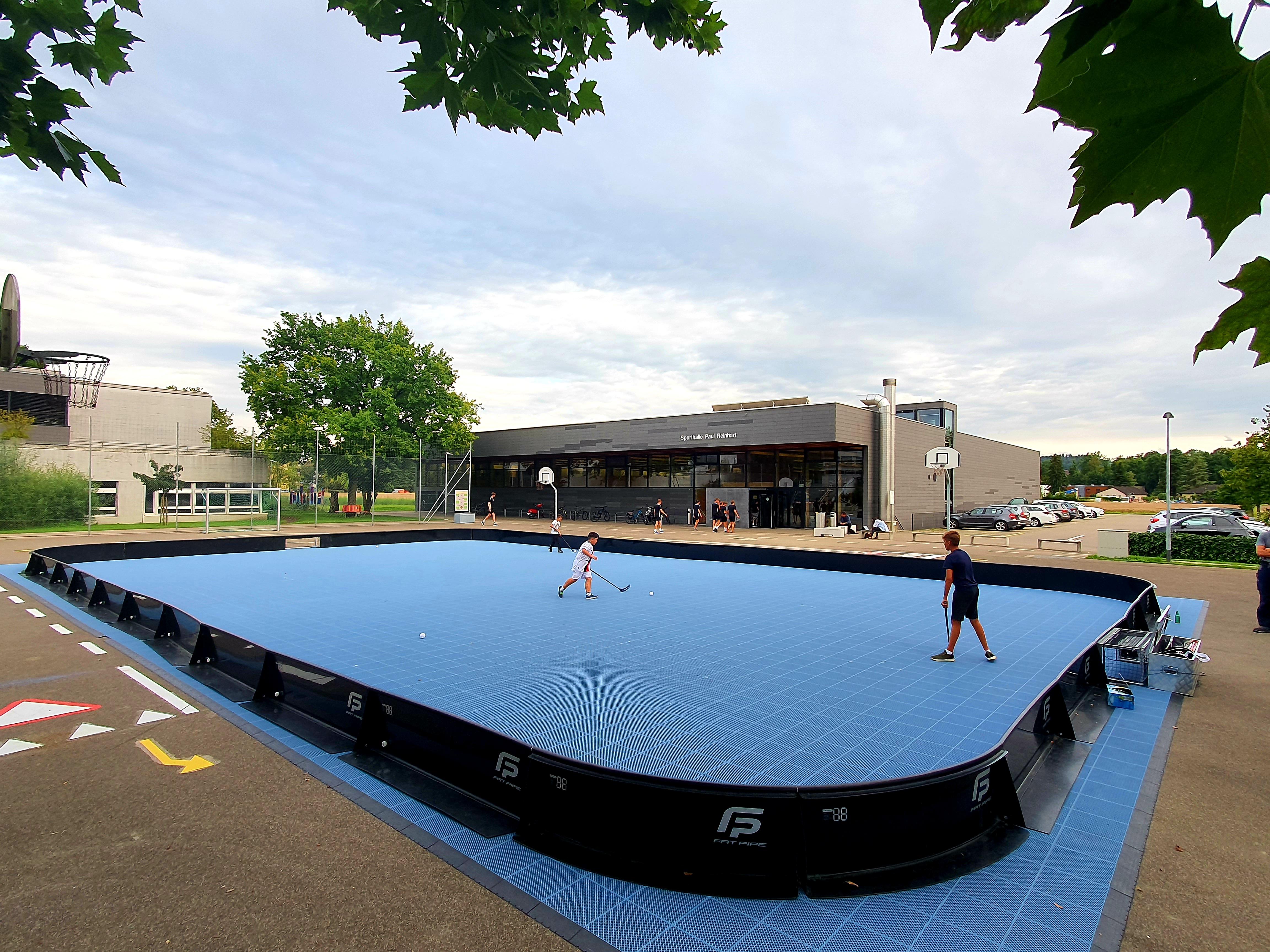 Street Floorball bewegt Weinfelden