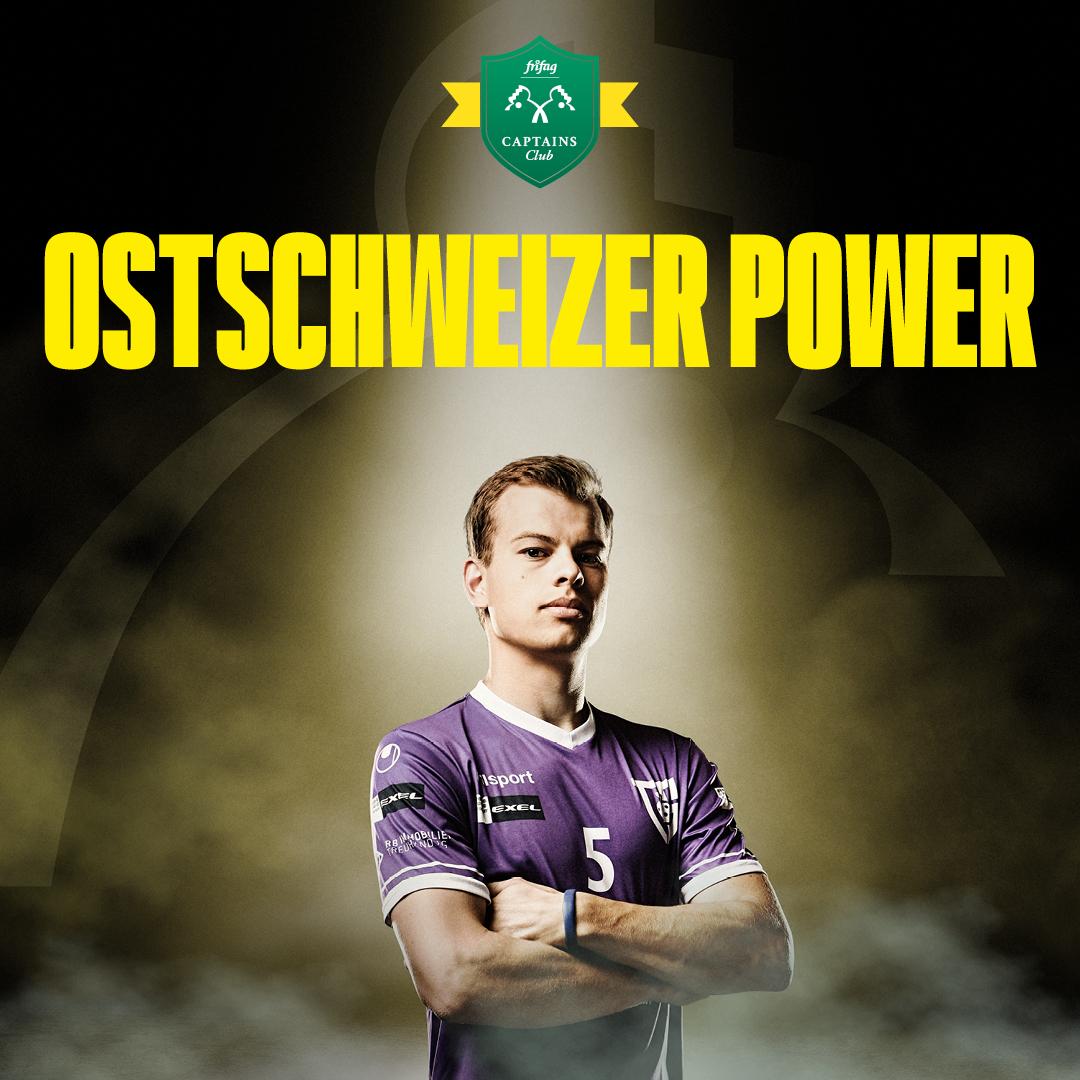 Brandneu am Start: «frifag captains club» - Ostschweizer Sportpower vereint in einem Team!
