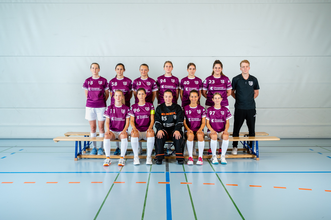 Das Damenteam ist bereit
