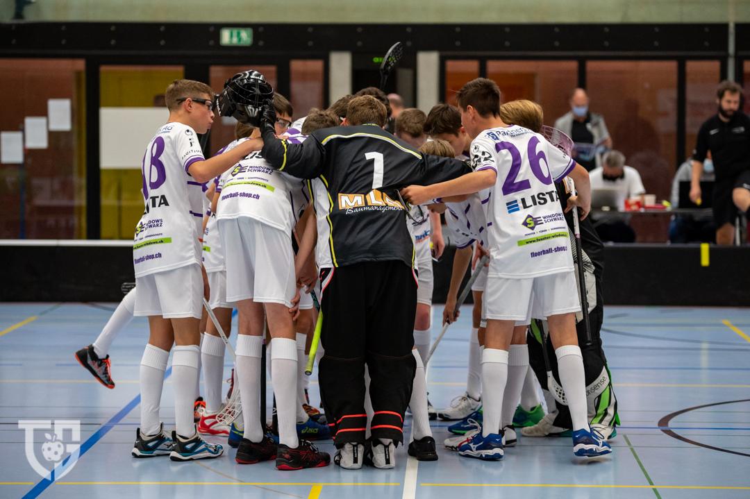 U18A: Floorball Thurgau erkämpft sich den Sieg in St.Gallen