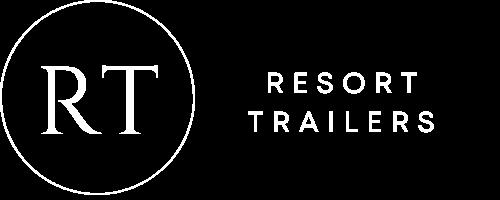 Resort Trailers Logo in White