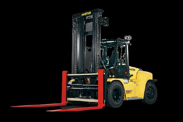 Forklift rendering