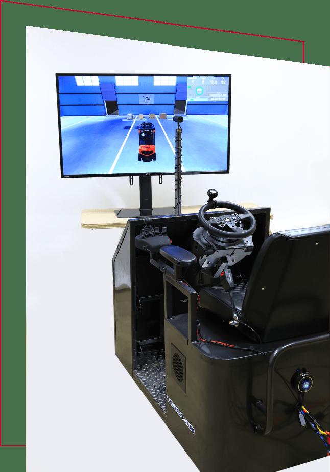 Real-Forklift Premium virtual reality forklift simulator