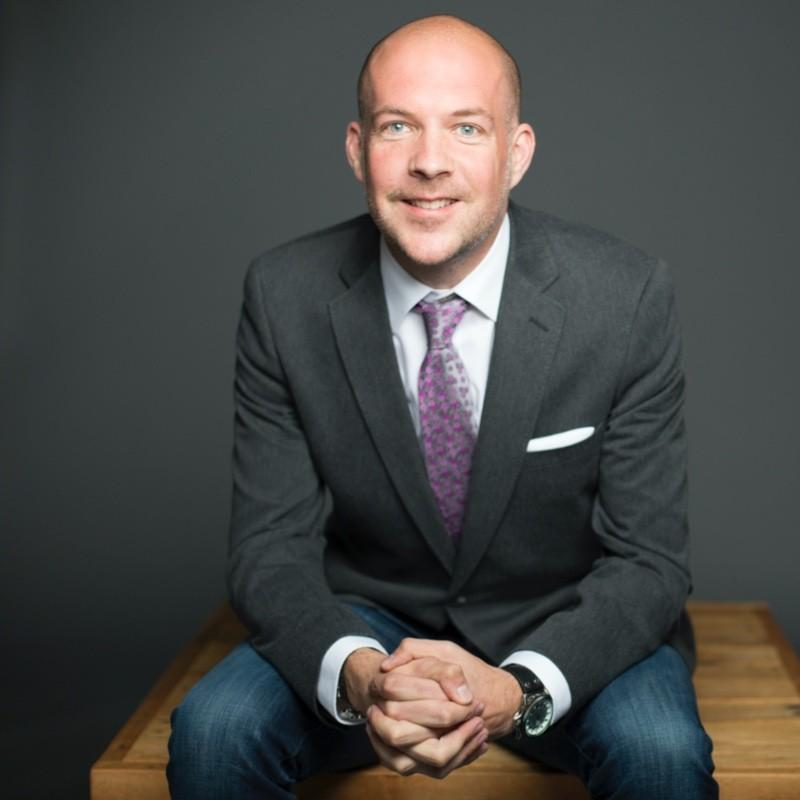 Alex Fallon CEO and President of SREDA