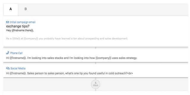 Mailshake sales engagement platform
