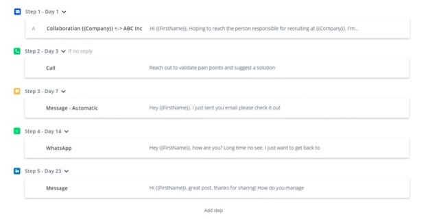 Reply sales engagement platform