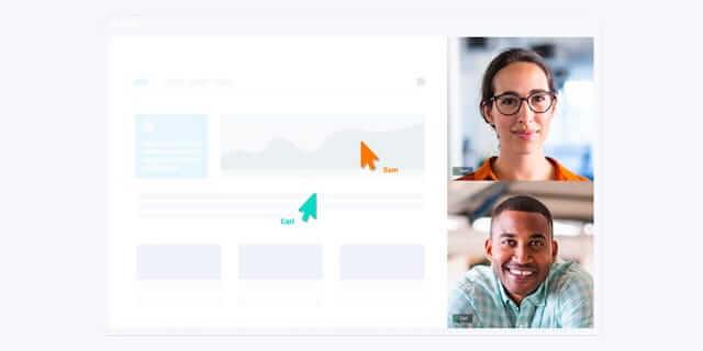 Demodesk, remote communication tool