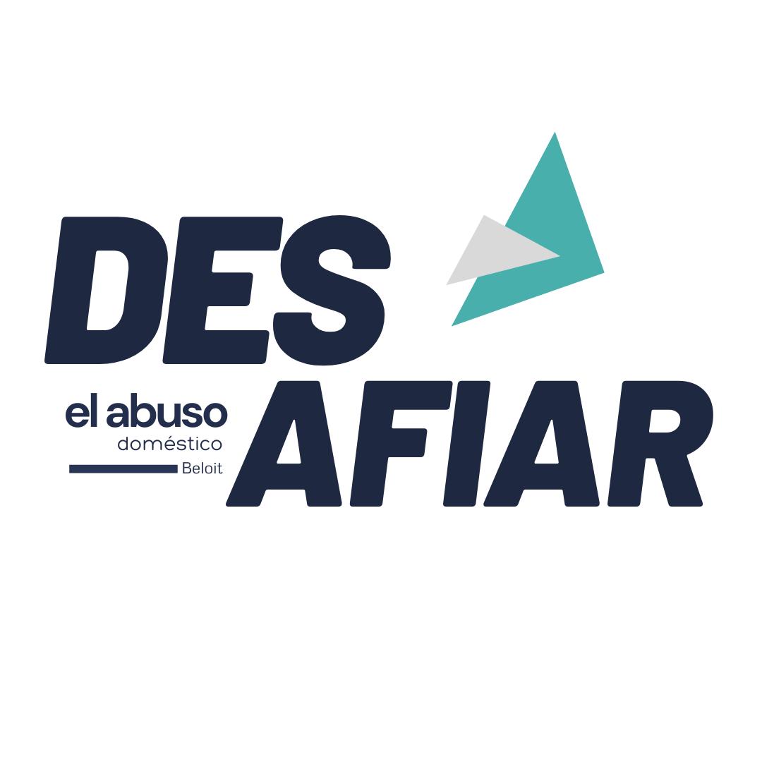 Spanish logo created by Owl Street Studio for Defy Domestic Abuse Beloit