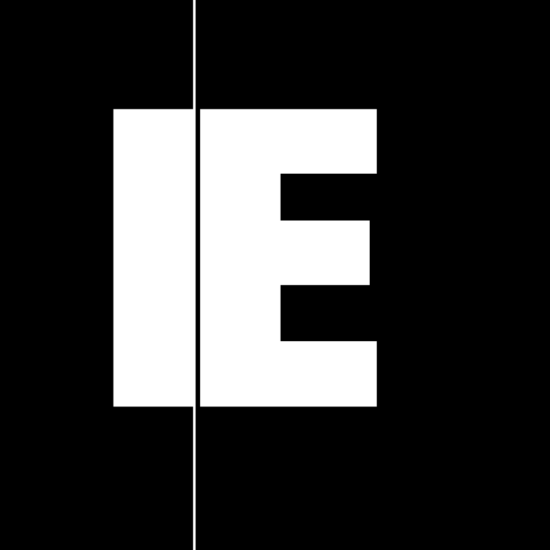 Abstract logo mark created by Owl Street Studio for Independent Ear Records