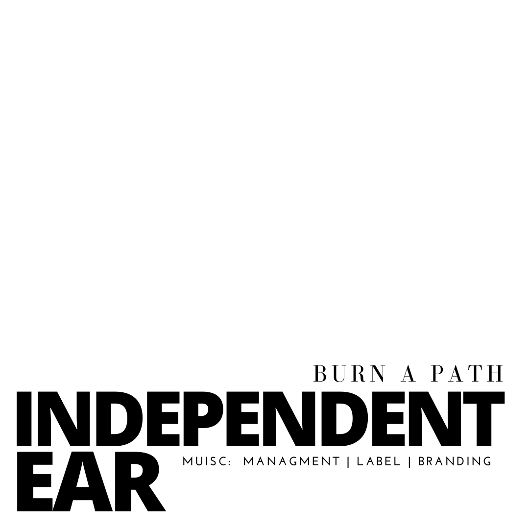 Logo word mark created by Owl Street Studio for Independent Ear Records