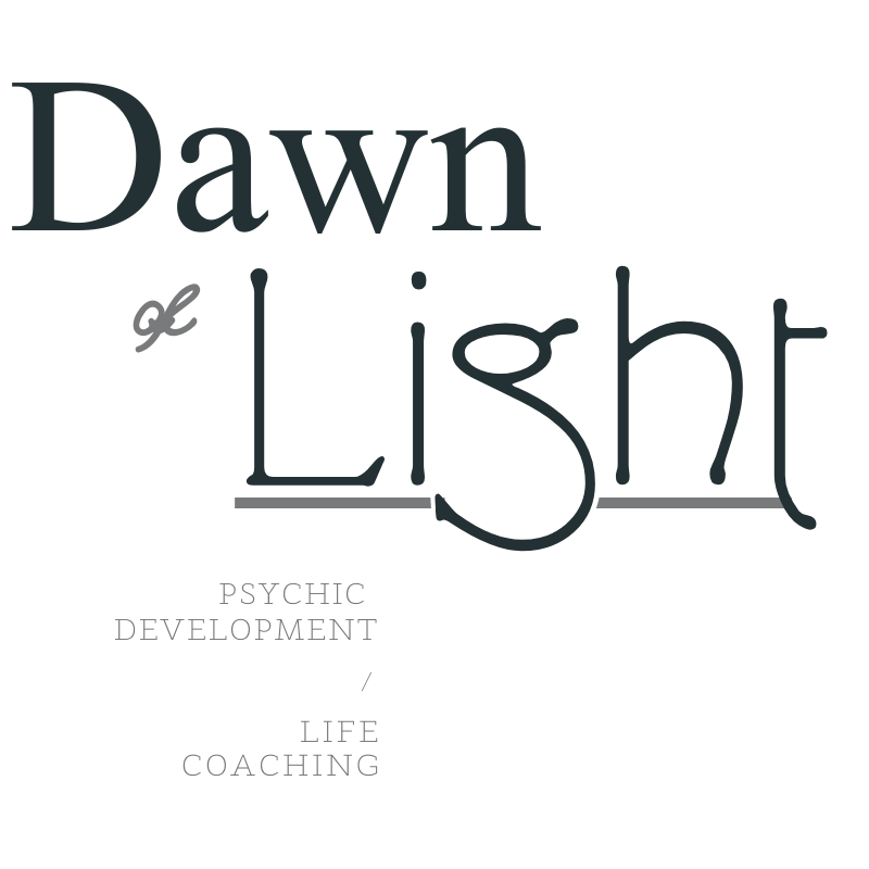 Logo word mark created by Owl Street Studio for Dawn of Light
