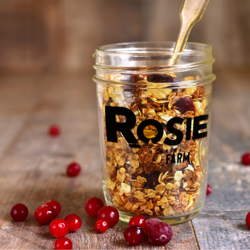 Packaging design created by Owl Street Studio for Rosie Morning Farm