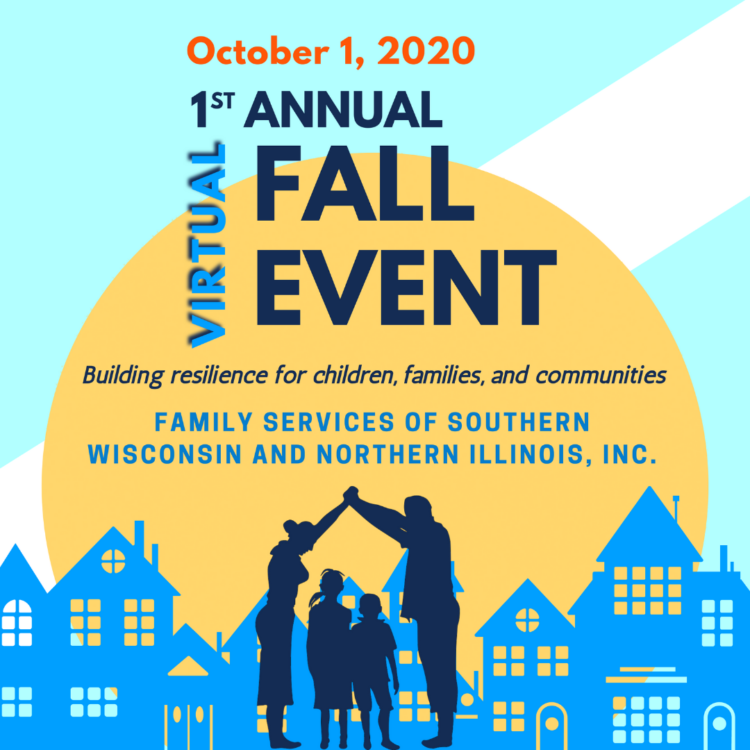 Example of existing branding for Family Services of Beloit Wisconsin's fall fundraising event
