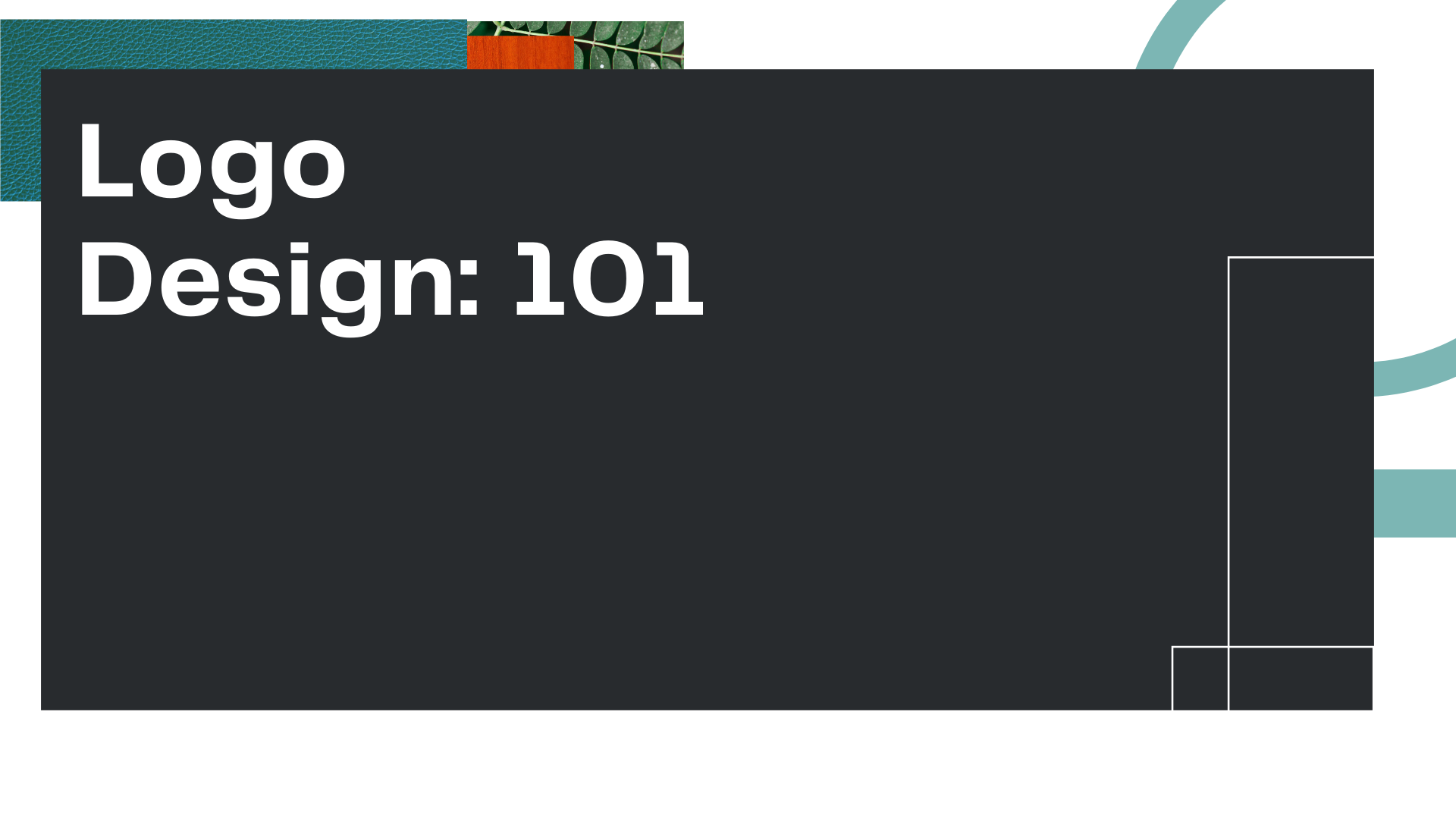 "Title Card for Owl Street Studio's blog article, ""Logo Design: 101"""