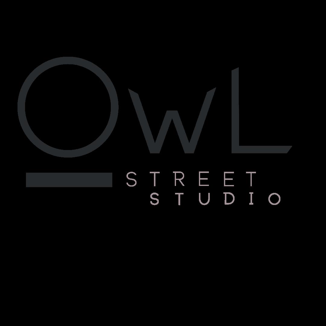 Full Logo Mark for Marketing and Design Agency Owl Street Studio