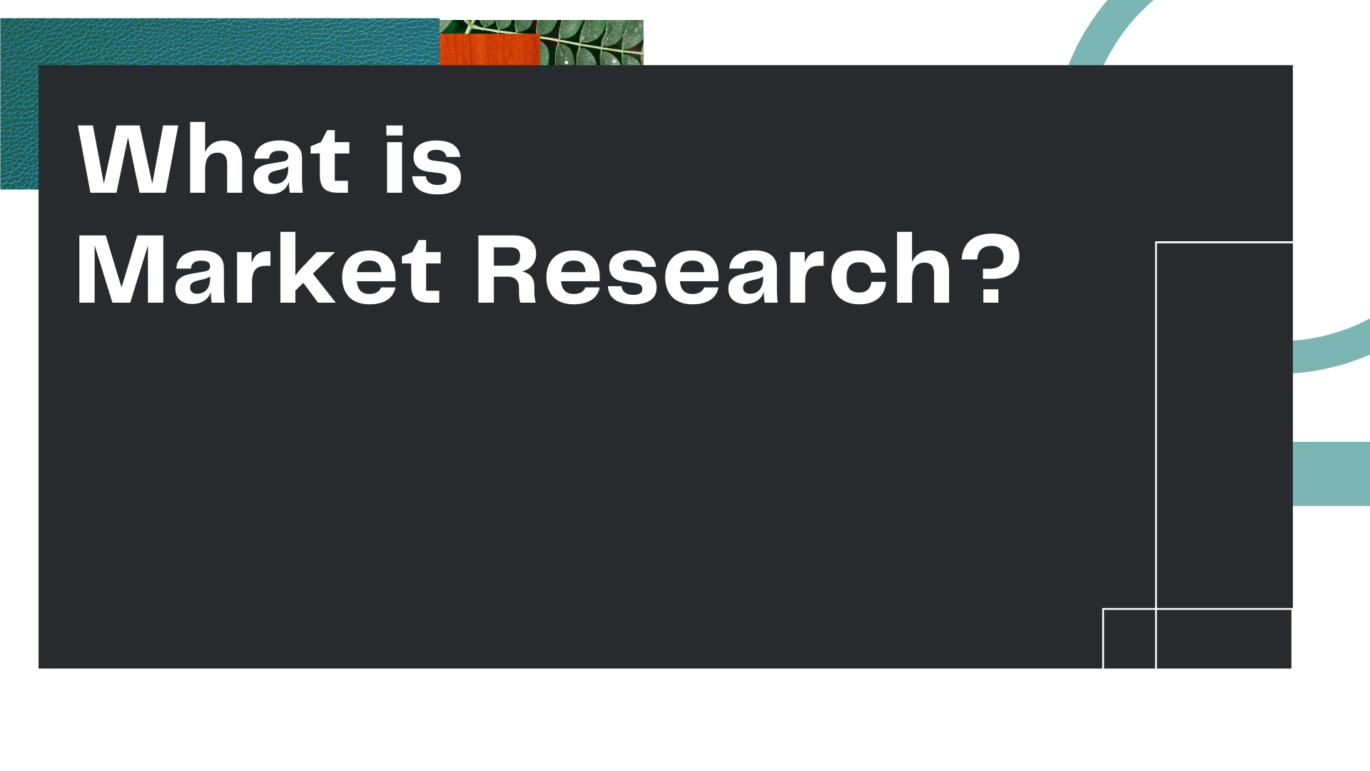 """Title Card for Owl Street Studio's episode of Marketing, Empathy, & You, """"What is Market Research?"""""""