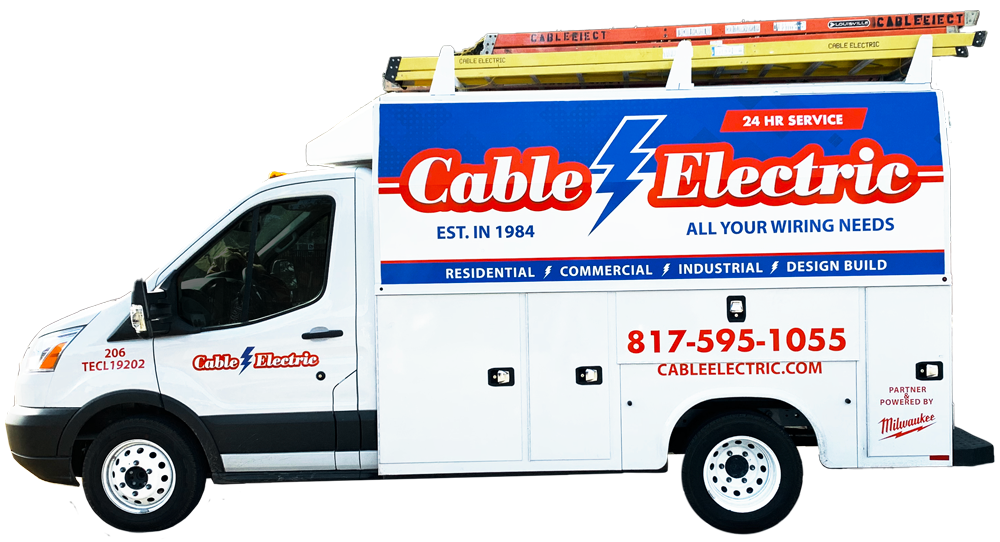 Cable Electric service truck