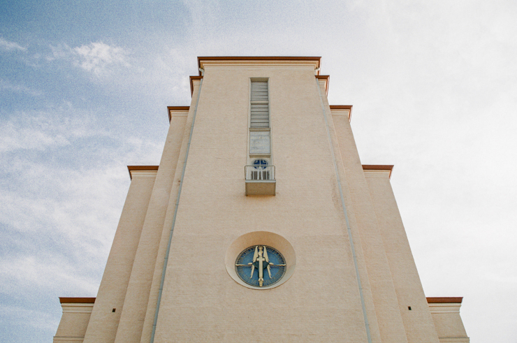 Kaunis kuva kirkosta Jyväskylässä.