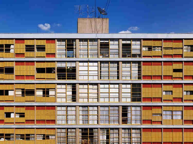 Prédios mais bonitos de São Paulo: Fachada do Ed Louveira