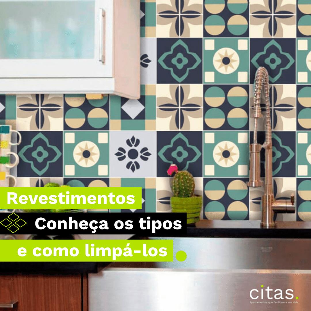 Revestimentos: conheça os tipos ideais para sua cozinha e banheiro