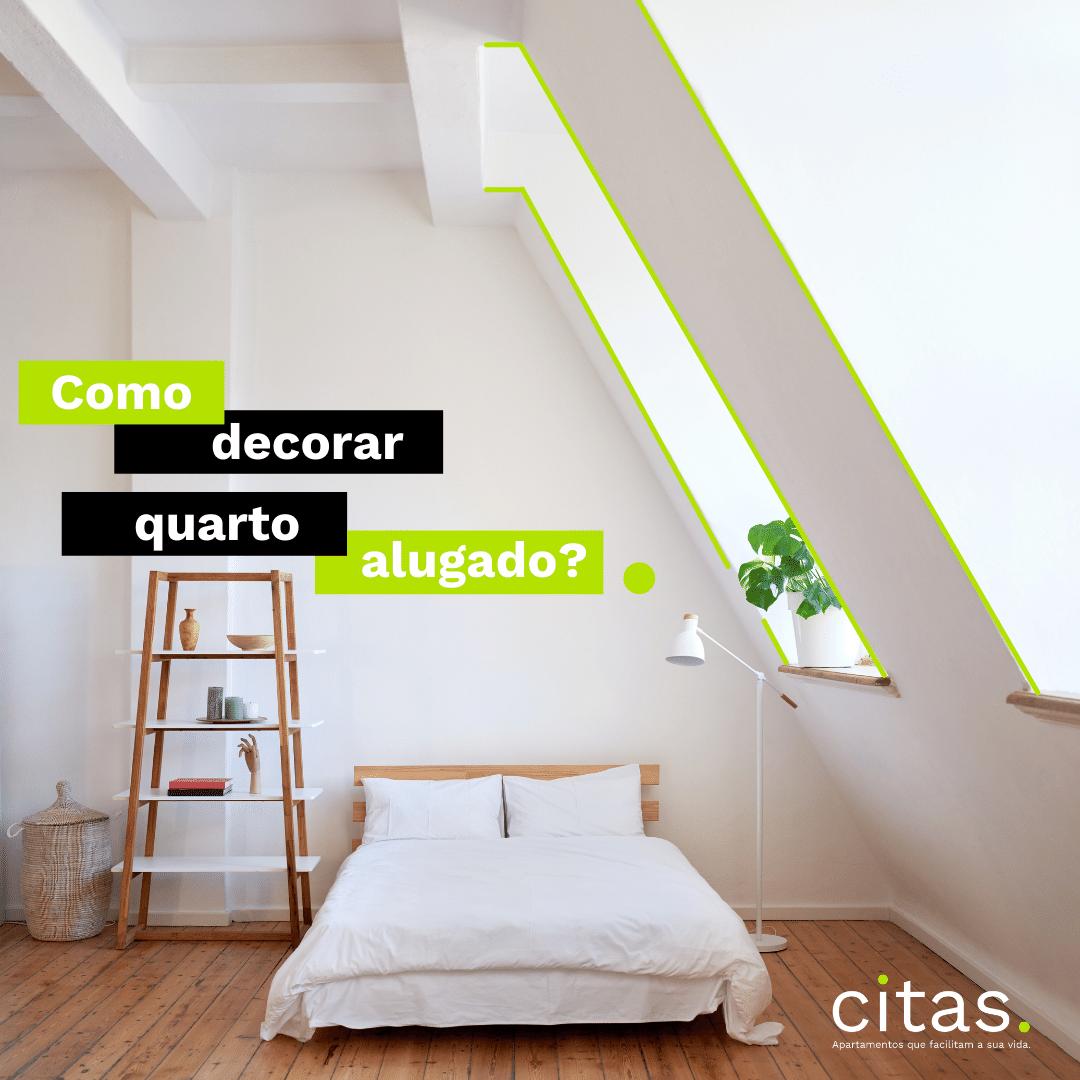 Como decorar quarto alugado? Dicas para quem mora de aluguel!
